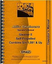 Allis Chalmers E Combine Operators Manual (1,001 - Up) (Self Propelled)