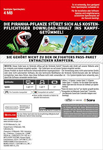 Smash Bros. Ultimate Piranha-Pflanze | Nintendo Switch - Download Code