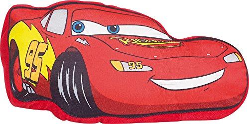 Fun House 712218 DISNEY Cars Coussin Flash Mac Queen Rouge +/- 43 x 22 x 8 cm