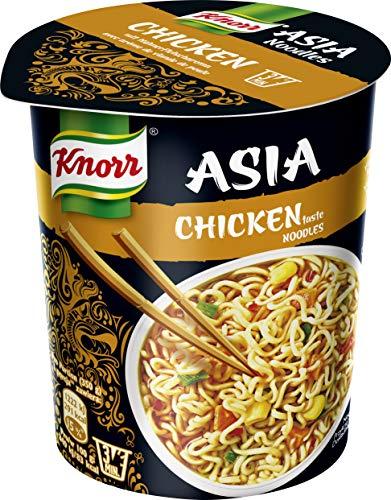 Knorr Asia Snack Chicken taste Noodles, 8 x 65 g