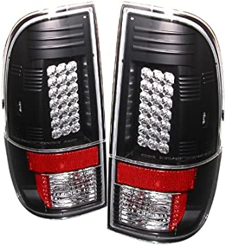 Amazon.com: Spyder Ford F250/350/450/550 Super Duty 08-12 LED Tail Lights -  Black: Automotive | Ford F350 Wiring Diagram Tail Lights |  | Amazon.com