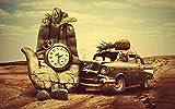 JDFKK Adultos Rompecabezas 1000 Piezas Coche Reloj De Bolsillo Rompecabezas Juego Educativo para Adultos Juguete Desafío Cerebral Rompecabezas Niño Niños Familia Rompecabezas Regalo-226