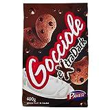 Pavesi Biscotti Frollini Gocciole Extra Dark con Cioccolato Fondente, 400g...