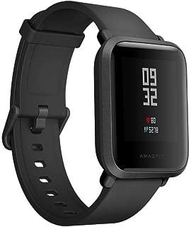 """Amazfit Bip  Smart Watch, Glonass GPS Monitor de frecuencia cardiaca de reloj deportivo ultra-liviano 1.82 """", impermeable IP68 - Versión UE"""
