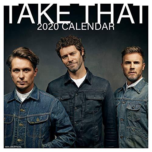 Take That 2020 Wandkalender, quadratisch, 30,5 x 30,5 cm, inkl. Poster