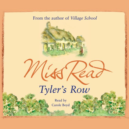 Tyler's Row audiobook cover art