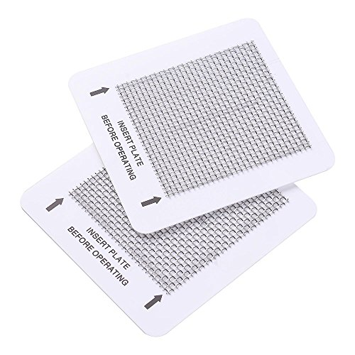 "Yescom Set of 2 Ceramic Ozone Plates for Popular Home Air Purifiers 4.5"" x 4.5"" Air Fresh Replacement Parts"