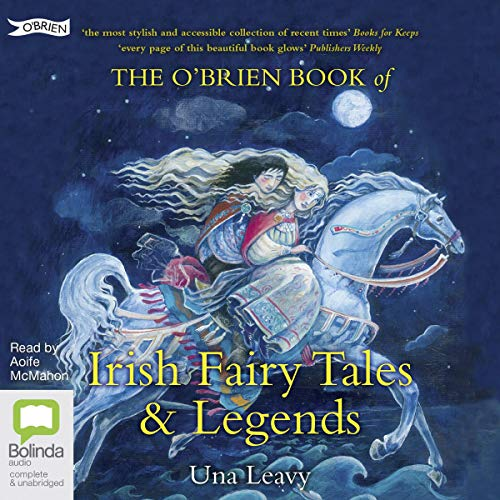 The O'Brien Book of Irish Fairy Tales and Legends audiobook cover art