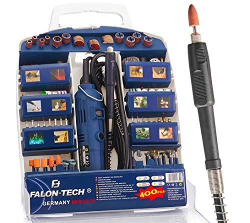 Mini Schleifer Multifunktionswerkzeug Schleifmaschine Set 400-tlg. MG02