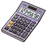 Casio MS-80VERII - Calculadora básica, 30.7 x 103 x 145 mm, color azul