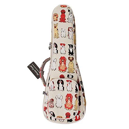 "MUSIC FIRST cotton 23/24 inch Concert""MR DOG"" ukulele case ukulele bag ukulele cover, Original Design. Best Christmas Gift!"
