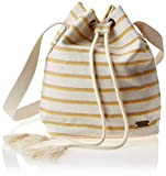 Roxy Blooming Everyday Small Bucket Bag, Bolsa de depósito para Mujer, marfil, crema, Talla única