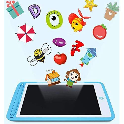 Jsdoin Tableta de Escritura LCD Colorida, Escritura electrónica Digital de 10 Pulgadas, Tableta de Dibujo gráfico electrónico, borrable, portátil, Bloc de Notas para niños, Juguetes de Aprendizaje