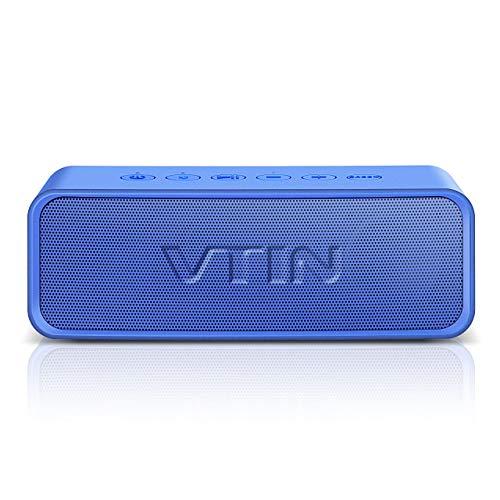 VicTsing VTIN R2 Altavoz Bluetooth, Altavoz portátil IPX6 a Prueba de Agua,...