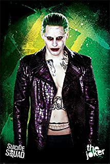 Pyramid International Suicide Squad The Joker Movie Poster 24x36 Inch