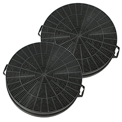 Spares2go Carbon Charcoal Filter For Bosch Cooker Hoods/Kitchen Vents Pack Of 2