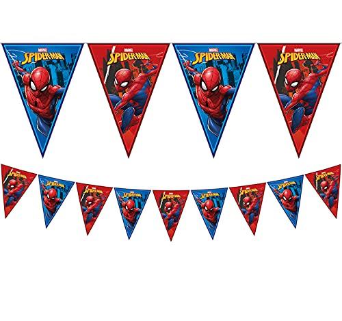 Bandierine Team Spiderman - 2 metri