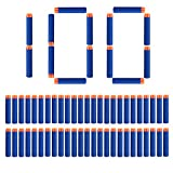 StillCool Nerf Darts Proiettile Freccette Foam Darts 100 Dardi Universili di Schiuma 7,2 cm for Nerf N-Strike Elite Series