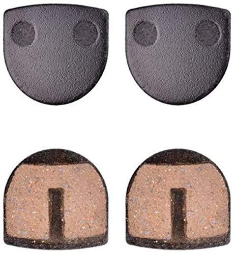 2 pares de pastillas de freno de bicicleta de montaña Para JAK flame Pastillas de freno Almohadillas de disco de bicicleta