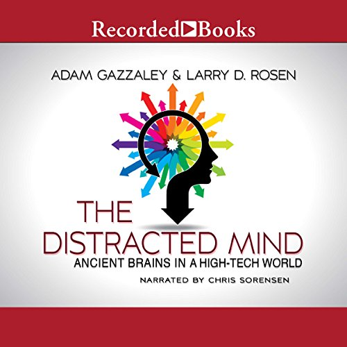 The Distracted Mind audiobook cover art