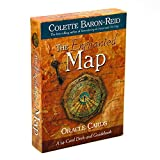 The Enchanted Map Oracle Cards 54 Cards Deck and Guidebook Colette Baron Travel Along The Journey Your Life Game Tarot to