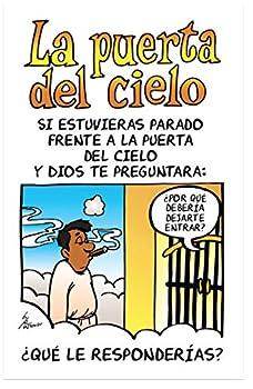 Heaven s Gate  Cartoon Gospel Tract Packet of 100 Spanish