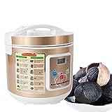 WUPYI2018 Fermentador de ajos negro, 90 W, máquina de fermentación inteligente para el hogar, para bricolaje, con capacidad de 5 L