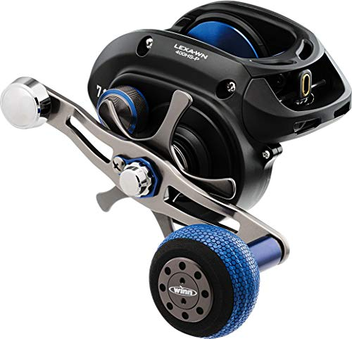 Daiwa LEXA-WN400H Lexa Type WN Casting Reel, 400, 6.3: 1 Gear Ratio, 33.40' Retrieve Rate, 25 lb Max Drag, Right Hand