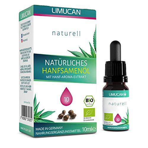 Premium Bio Essential Öl - zu 100% natürliche Öl Tropfen mit 10 ml Inhalt - Made in Germany - GMP - vegan, laktosefrei, glutenfrei - frei von Konservierungsstoffen - 10