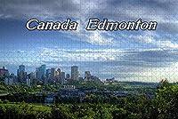 Jigsaw Puzzle for Adults Canada Fort Edmonton Park Puzzle 1000 Piece Travel Souvenir