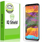 IQ Shield Screen Protector Compatible with Galaxy S9 Plus...