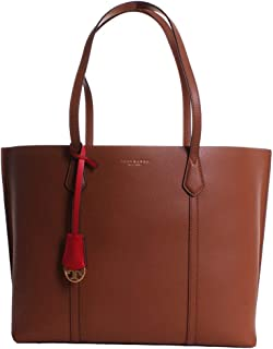 Perry Unisex Medium Brown Leather Tote Bag 53245-905