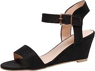 esTerciopelo Para Sandalias Zapatos Mujer Amazon De Vestir O80Pknw