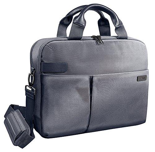 Leitz, Business Laptop-Tasche für 13.3 Zoll Laptop oder Ultrabook, Smart Traveller, Complete, Silber, 60390084