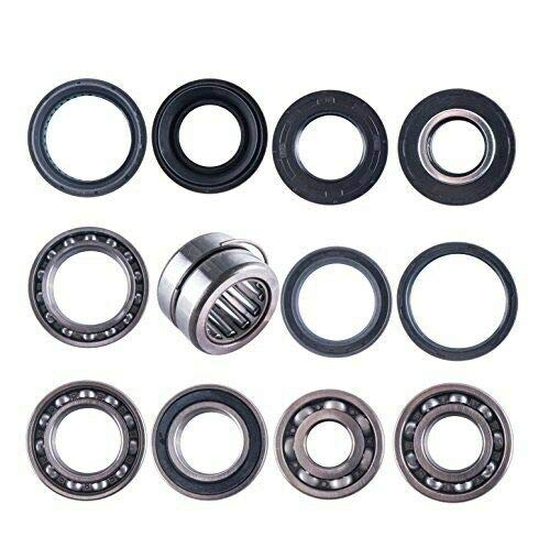 East Lake Axle Rear differential bearing & seal kit compatible with Honda TRX 350 400 Rancher 2000 2001 2002 2003 2004 2005 2006 2007