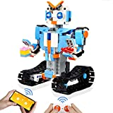 BBdis STEM Building Blocks Robot for Kids - Remote Control Robot Kit Educational Learning Science Building Toy Kits STEM Toys for 7,8 Year Old Boys and Girls