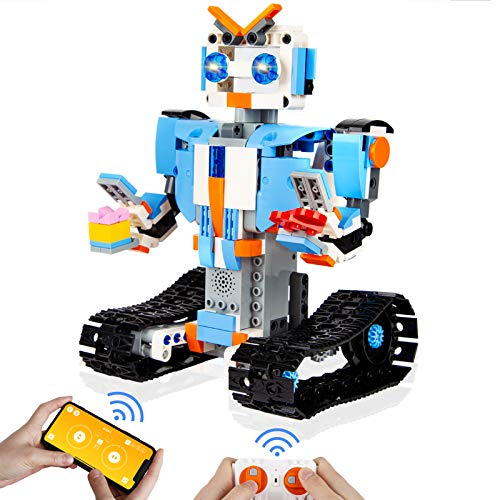 BBdis Robot Building Kits for Kids - Remote Control Robot Kit Educational Learning Science Building Toys Kids Robots for Boys and Girls 451+ Pcs Kit