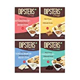 Snackible Dipsters Biscuit Sticks & Dip - Assorted Pack of 4 Flavours | Butterscotch, Caramel, Chocolatey, Cookies & Cream | (Pack of 12) - 12x30gm