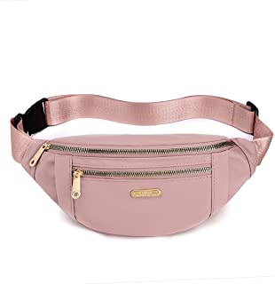 Fanny Pack Waist Pack for Women, Waterproof Waist Bag with Adjustable Strap for Travel Sports Running