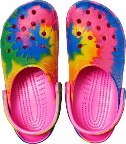 Crocs Men's and Women's Classic Tie Dye Clog