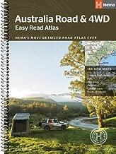 Australia Easy Read Road and 4WD Atlas: HEMA.A.041SP
