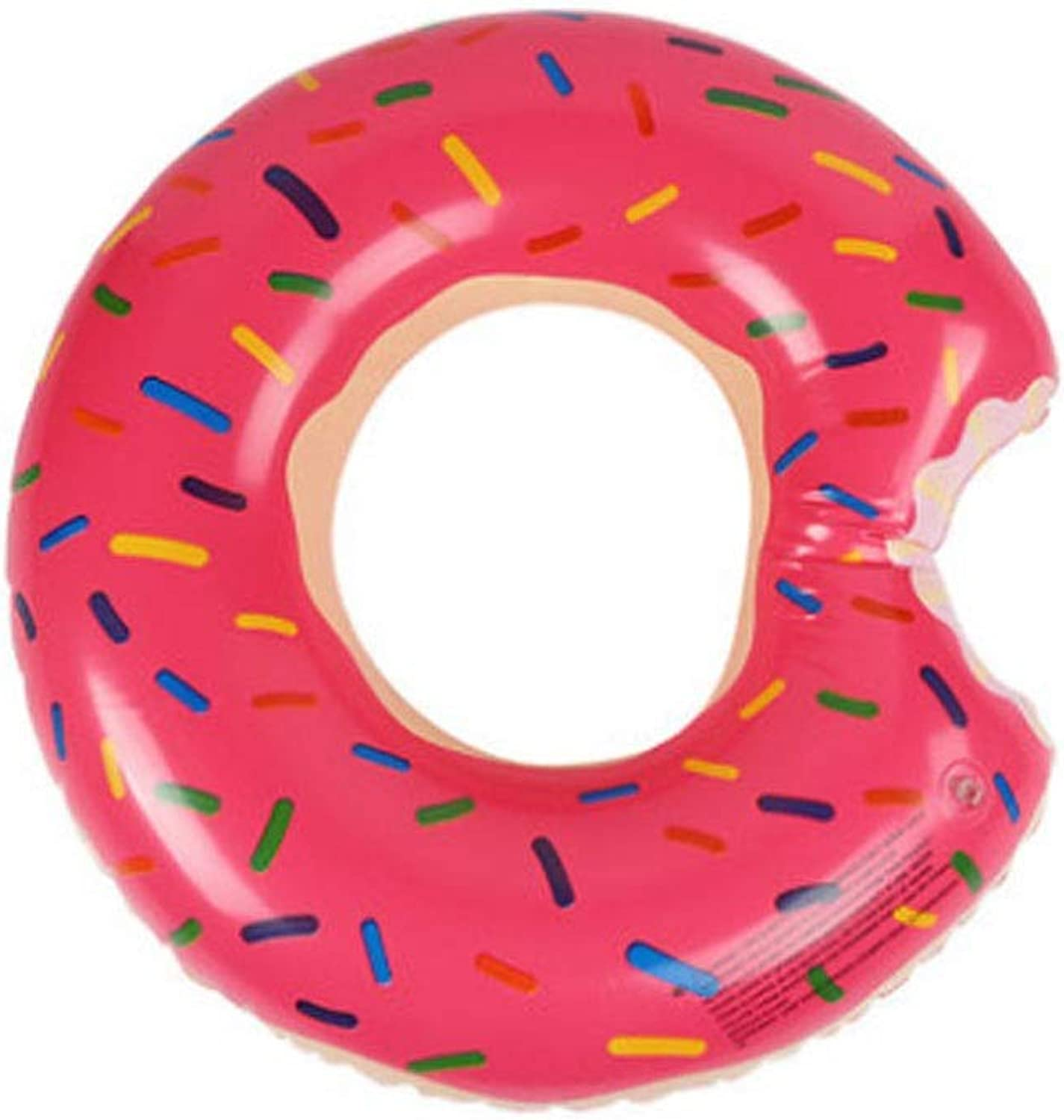 Yougou01 Swimming Ring, Donut Style Design, High Buoyancy Green Pvc Material, Suitable For All Kinds Of People, There Are Many Choices (pink, Brown) (color   Pink, Edition   6580kg)