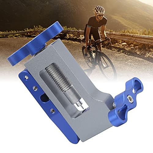 logozoee Herramienta de inserción de Montaje, Destornillador de Aguja de Bicicleta con diseño Hueco de Cortador con diseño de Hoja de Cortador reemplazable para reparación de Bicicletas