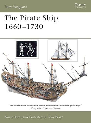 The Pirate Ship 1660–1730 (New Vanguard)