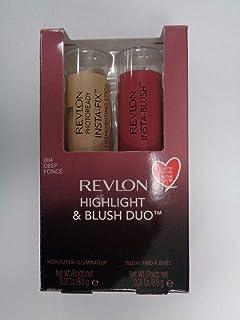 Revlon Insta Highlighter & Blush Duo 210 Gold Light / 320 Berry Kiss 2x8.9g