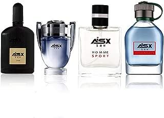 Agua de Perfume para Hombre de 4 * 25 ml: 4 fragancias
