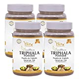 Vitro Naturals 100% Certified Organic Triphala Churna Powder 100g (Pack of 4) |