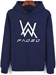 YD-zx Unisex Chic Hoodie, Loose /3D/Faded/DJ Digital Printed Long Sleeve Hoodies Pullover Thicken Sweatshirts