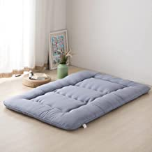 Japanese Mattress Floor Foldable,Floor Mattress Futon Mattress,Thicken Sleeping Tatami Floor Mat,Kids Floor Lounger Bed,Ro...