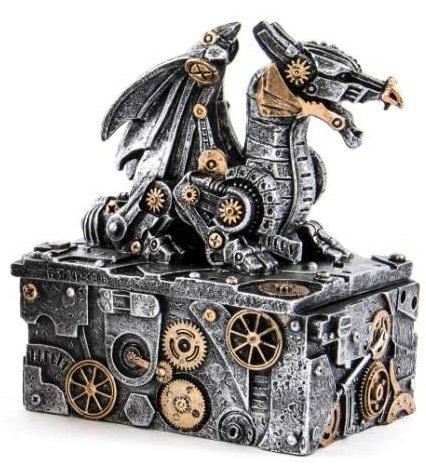 AVENUELAFAYETTE Boîte à Bijoux Figurine Dragon Robot (M2)